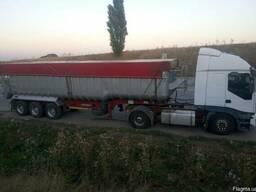 Предоставляем услуги перевозки сыпучих по всей Украине