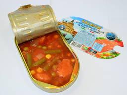 Предоставляем услугу производства рыбных консерв под СТМ