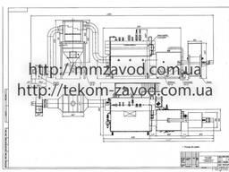 Паровой котел Е-2, 5-1, 4 с Предтопком (пеллета, щепа, лузга)