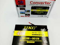 Преобразователь напряжения автомобильный с 24В в 12В авто инвертор-конвертор UKC DC/DC. ..