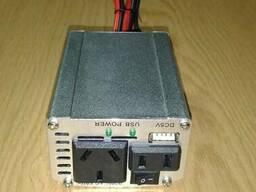 Преобразователь напряжения (инвертор) 200Вт DC/AC 12В-220В, выход USB 5В