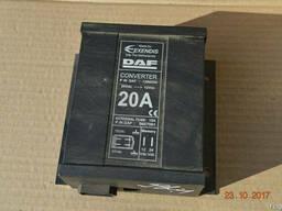 Преобразователь тока 20 ампер на Daf 1368354//0657561