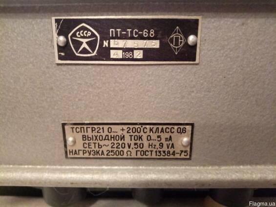 Преобразователи измерительные ПТ-ТС-68