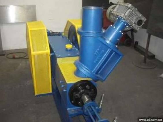 Пресс - брикетировщик из биомассы механическийПБ 400