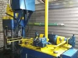 Пресс для брикетирования металлической стружки Y83-250