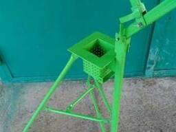 Пресс для брикетов 100х100 мм измельчитель картона Mастак