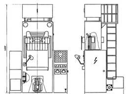 Пресс для прессования пластмасс ДГ2434А.