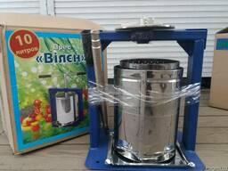 Пресс для сока винограда , яблок Вилен 10 литров