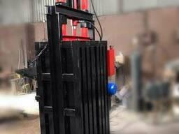 Пресс для вторсырья Казак на 10 тонн 4 кВт. Пресс для макула
