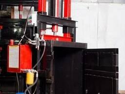 Пресс для вторсырья Мини на 2.2 кВт на 10 тонн. Пресс для ма