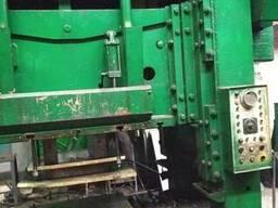 Пресс двухкривошипный простого действия закрытый КВ3732А