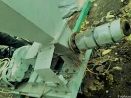 Пресс экструдер для производства топливного брикета