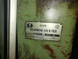 Пресс гидравлический двух стоечный рамный с подогревом ДГ 2432 А ус. 160 тонн.