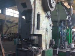 Пресс механический К-2232 160 тонн рабочий