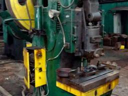 Пресс кривошипный механ. К117Е ус. 100 т