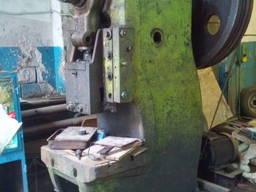 Пресс кривошипный штамповочный К117Е