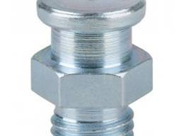 Плоская пресс-масленка M8x1, 0 KØ 16 mm, DIN 3404