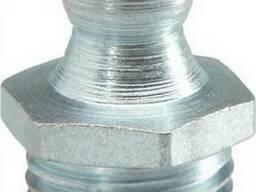 Пресс-масленка по DIN 71412 А под 180° (прямая) резьбовая