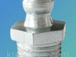 Пресс-масленок прямой DIN 71412A М6х0. 75