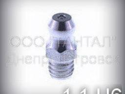 Пресс-маслёнка М6х1 DIN 71412 тип А, 1.1. ц6 ГОСТ 19853-74