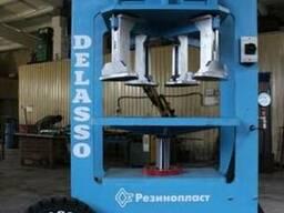 Пресс монтажный для цельнолитых шин типа гусматик