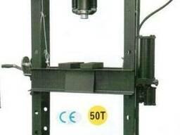 Пресс напольный пневмогидравлический 50000 кг