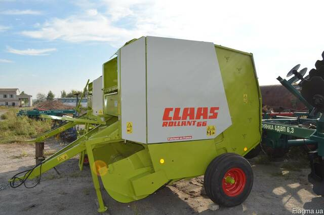Пресс подборщик Claas Rollant 66 (Клас Роллант)