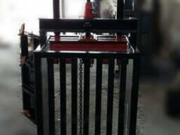 Пресс реечный ручной на 5 тонн. Пресс для макулатуры