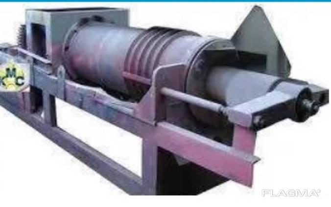 Пресс шнековый для переработки жома сахарной свеклы