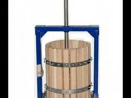Пресс для Сока Яблок Винограда Вилен 20 литров с Дубовой Кор