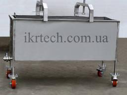 Пресс тележка для творога / прес-візок для сиру 500 кг