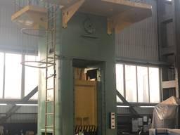 Капитальный ремонт металлорежущего и прессового
