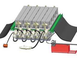 Пресс для стыковки конвейерных лент вулканизационный ПСШ1 М (шахтный)