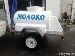 Прицеп для торговли молоком