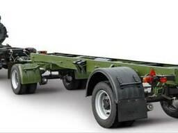 Прицеп КрАЗ А191Н2 для военного и промышленного оборудования