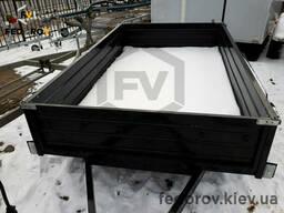Прицеп легковой двухосный 1500х2500х400 - Fedorov - прицепы и фаркопы