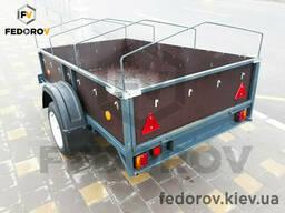Прицеп легковой, фанерные борта 1250х2150х400 - Fedorov - прицепы и фаркопы