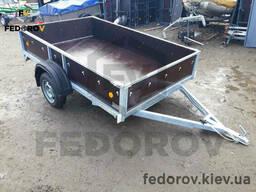 Прицеп легковой оцинкованный, фанерные борта 1500х2500х400 - Fedorov