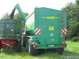Прицеп-перегрузчик зерна HAWE