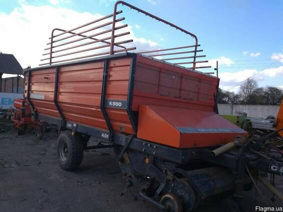 Прицеп-подборщик DEUTZ- FAHR K 550