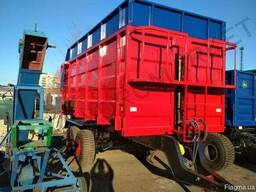 Прицеп тракторный с гидробортом 2ПТС-16