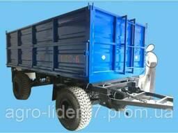 Прицеп тракторный самосвальный двухосный шеститонный 2ПТС-6 (Новый)