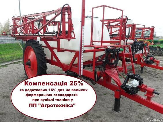 Украинский опрыскиватель ОРП 2000 л з АСУ штанга 18 м