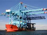 Береговой козловой грейферный кран - фото 3