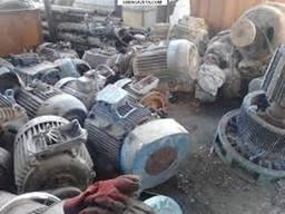 Прием электродвигателей и компрессоров под разборку Киев