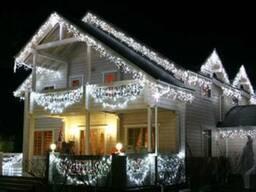 Прикрасити новорічними гірляндами, зовнішні led гірлянди - фото 5