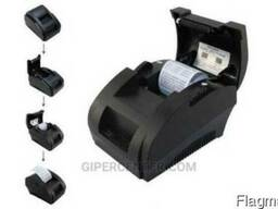 Принтер чеков Xprinter XP-58IIH USB для магазина POS-принтер