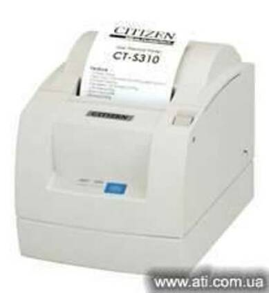 Принтер чековый, термопринтер Citizen CT-S 310