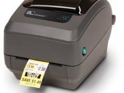 Принтер наклеек-этикеток zebra gk420t