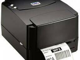 Принтер штрих кода этикеток TSC TTP-244 термотрансферный